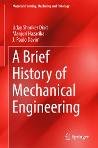 Cover A Brief History of Mechanical Engineering