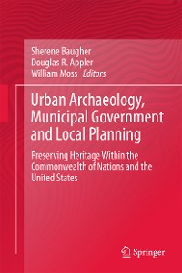 Cover Urban Archaeology, Municipal Government and Local Planning