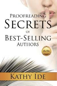 Cover Proofreading Secrets of Best-Selling Authors