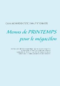 Cover Menus de printemps pour le mégacôlon