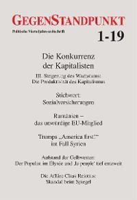 Cover GegenStandpunkt 1-19