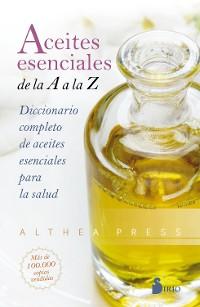 Cover Aceites esenciales de la A a la Z