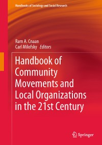 Cover Handbook of Community Movements and Local Organizations in the 21st Century
