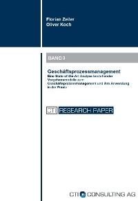 Cover Geschäftsprozessmanagement