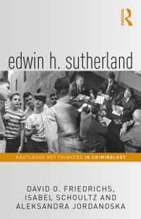 Cover Edwin H. Sutherland