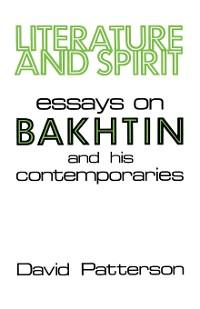 Cover Literature And Spirit