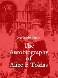 Cover The Autobiography of Alice B Toklas