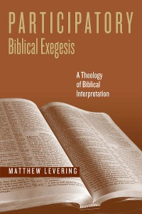 Cover Participatory Biblical Exegesis