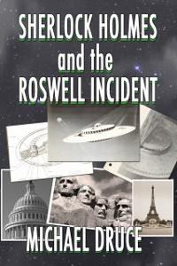 Cover Sherlock Holmes and The Roswell Incident