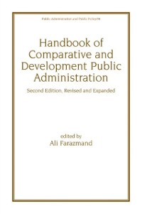 Cover Handbook of Comparative and Development Public Administration