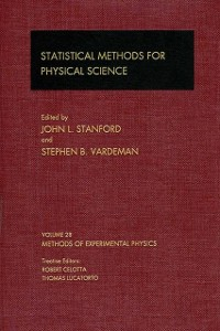 Cover Statistical Methods for Physical Science