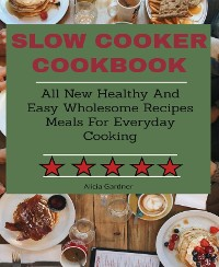 Cover Slow Cooker cookbook