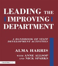 Cover Leading the Improving Department