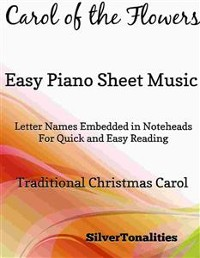 Cover Carol of the Flowers Easy Piano Sheet Music