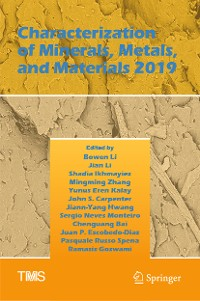 Cover Characterization of Minerals, Metals, and Materials 2019