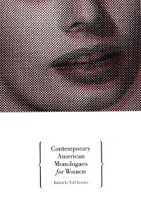 Cover Contemporary American Monologues for Women