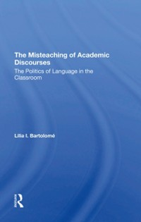 Cover Misteaching Of Academic Discourses