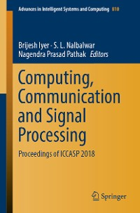 Cover Computing, Communication and Signal Processing