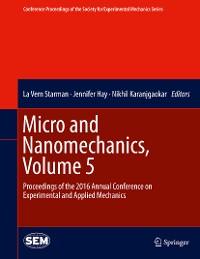 Cover Micro and Nanomechanics, Volume 5