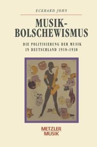 Cover Musikbolschewismus