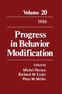 Cover Progress in Behavior Modification