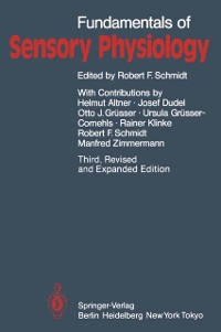 Cover Fundamentals of Sensory Physiology
