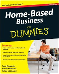 Cover Home-Based Business For Dummies