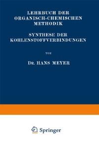 Cover Synthese der Kohlenstoffverbindungen