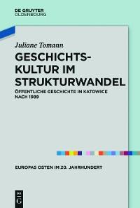 Cover Geschichtskultur im Strukturwandel