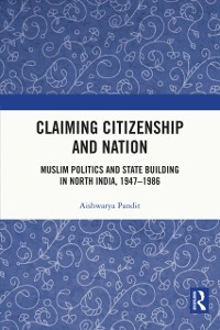 Cover Claiming Citizenship and Nation
