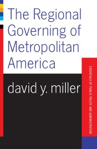 Cover Regional Governing Of Metropolitan America