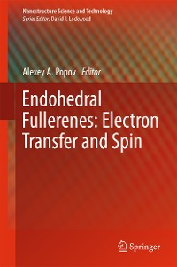 Cover Endohedral Fullerenes: Electron Transfer and Spin