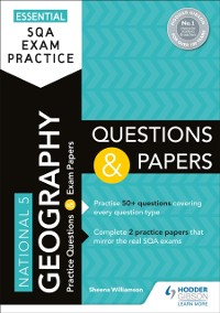 Cover Essential SQA Exam Practice: National 5 Geography Questions and Papers