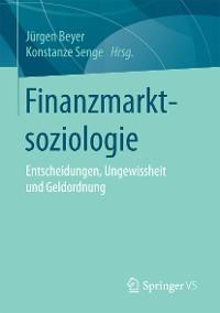 Cover Finanzmarktsoziologie