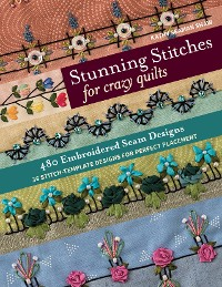 Cover Stunning Stitches for Crazy Quilts