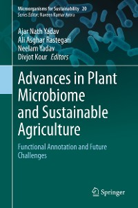 Cover Advances in Plant Microbiome and Sustainable Agriculture