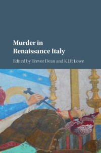 Cover Murder in Renaissance Italy