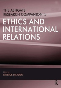 Cover Ashgate Research Companion to Ethics and International Relations