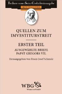 Cover Quellen zum Investiturstreit