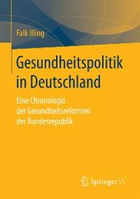Cover Gesundheitspolitik in Deutschland