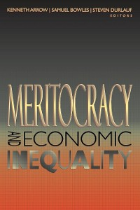 Cover Meritocracy and Economic Inequality