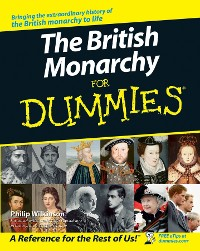 Cover The British Monarchy For Dummies