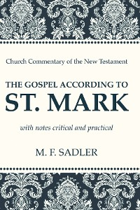 Cover The Gospel According to St. Mark