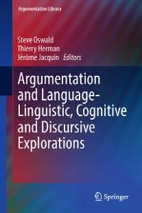 Cover Argumentation and Language — Linguistic, Cognitive and Discursive Explorations
