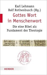 Cover Gottes Wort in Menschenwort