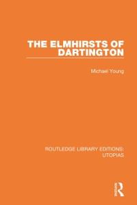 Cover Elmhirsts of Dartington