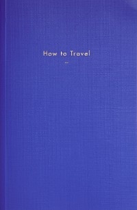 Cover How to Travel