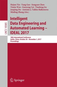 Cover Intelligent Data Engineering and Automated Learning - IDEAL 2017