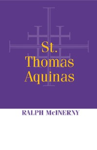 Cover St. Thomas Aquinas