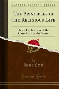 Cover The Principles of the Religious Life